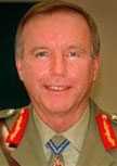 Major General John Cantwell (Ret) AO DSC